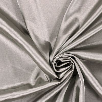 Stretch Satijn 13 - Polyester - Elasthaan - zilver