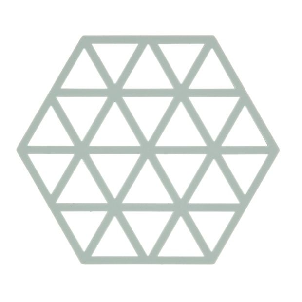 Zone Triangles Onderzetter - Blauw - afbeelding 1