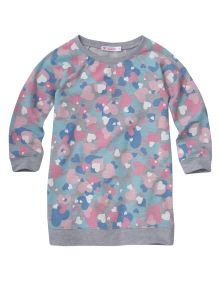 #NewandNow Wavetribe Heart Print Sweatshirt product photo
