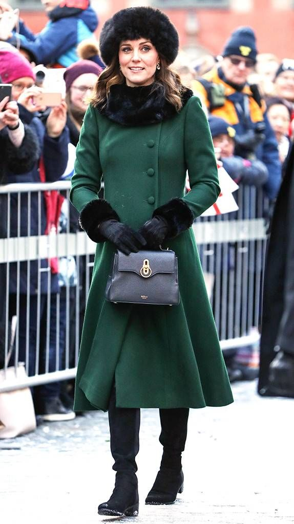 Check out the Duchess' winter style!