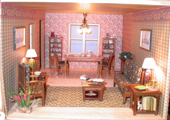 735 best Dollhouse Rooms images on Pinterest   Doll houses ...