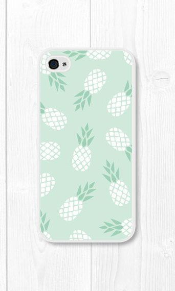 Mint Green Pineapple iPhone 5c Case Pineapple iPhone