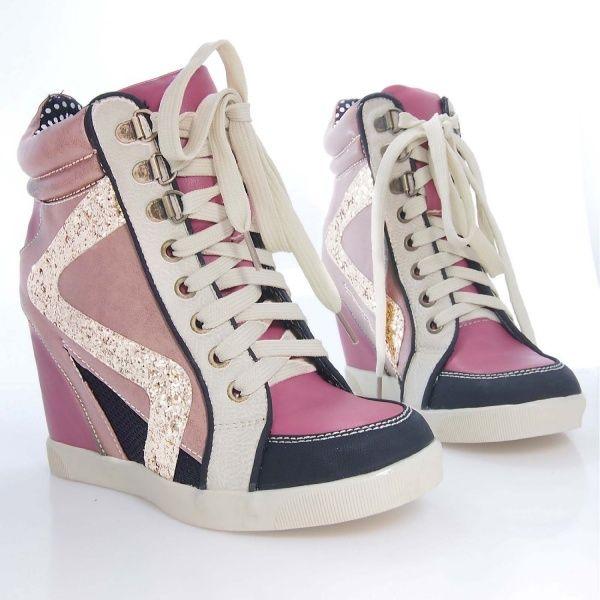 Women's Stylish Wedge Fashion Sneaker