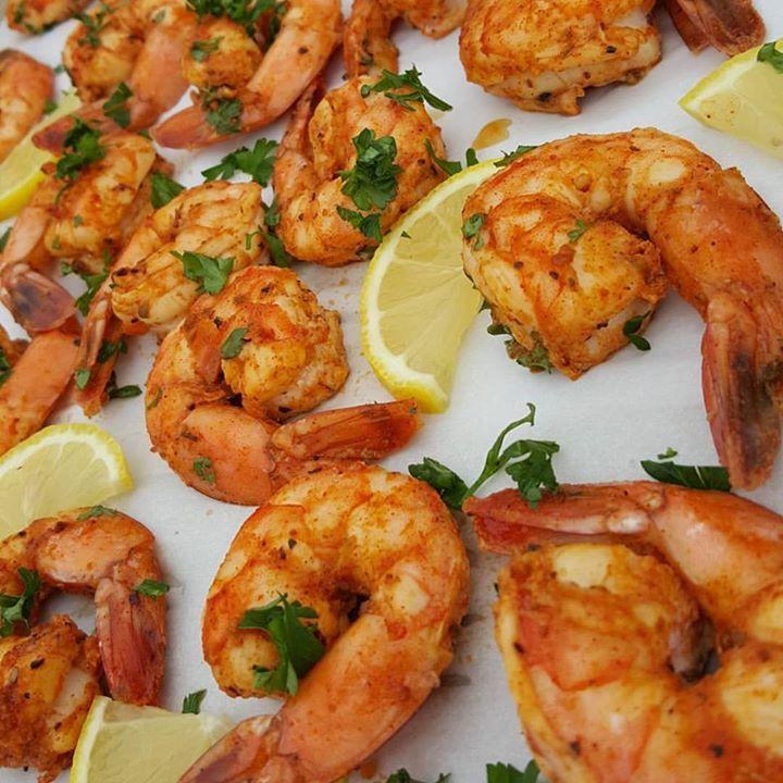 Sweet Cajun Baked Shrimp