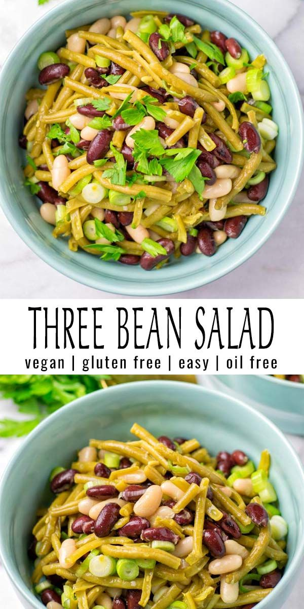 Three Bean Salad Recipe With Images Three Bean Salad Bean Salad Salad With Sweet Potato
