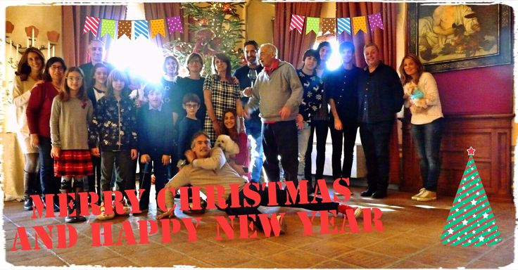 From our big clan, with love! Christmas 2015