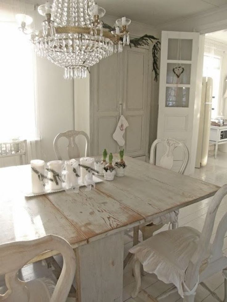 164 best Painted Dining Set images on Pinterest | Dining ...