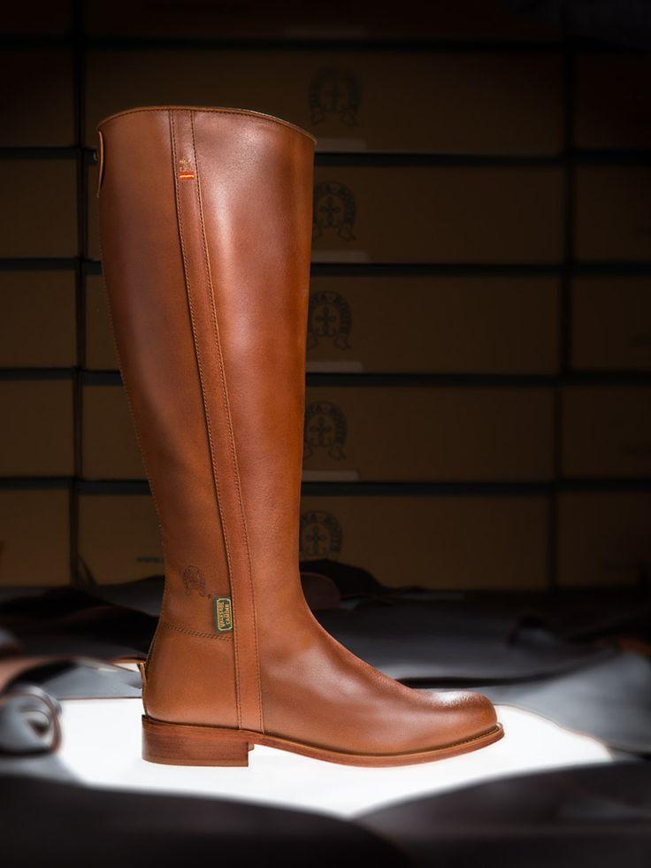 Botas de Valverde del Camino, Dakota Boots | Botas de mujer DESEO Dakota Boots cuero viejo, modelo 290-01