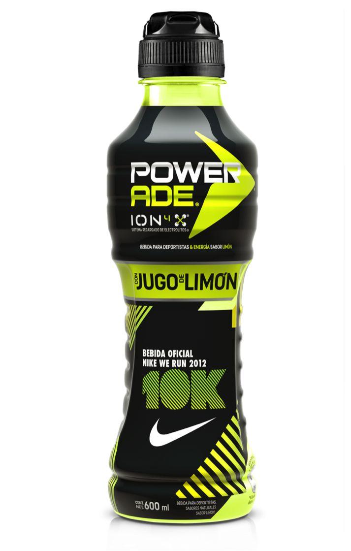 Powerade Ion4 Lemon 10K Nike Energy Drink
