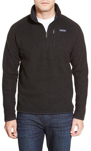 Men's Patagonia 'Better Sweater' Quarter Zip Pullover