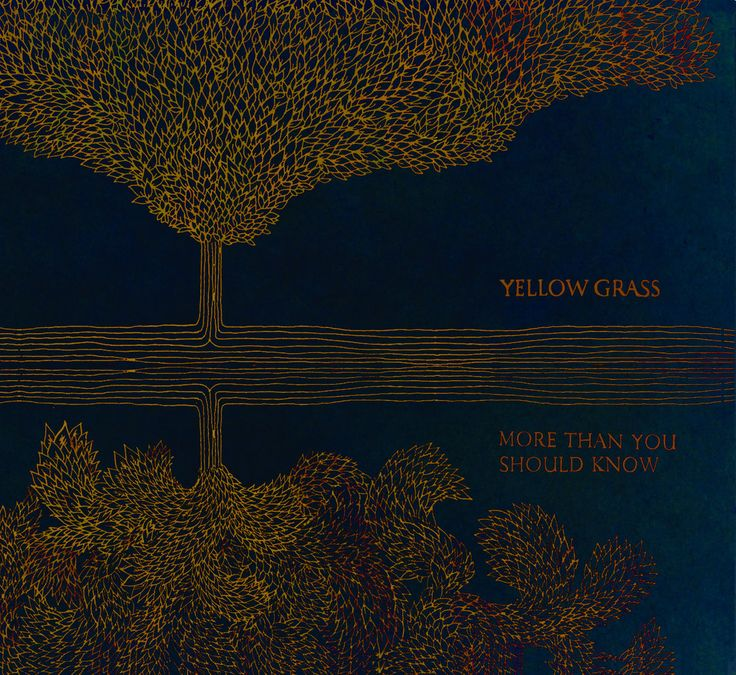 <Album> More Than You Should Know  <Artist> Yellow Grass  <Song> More Than You Should Know