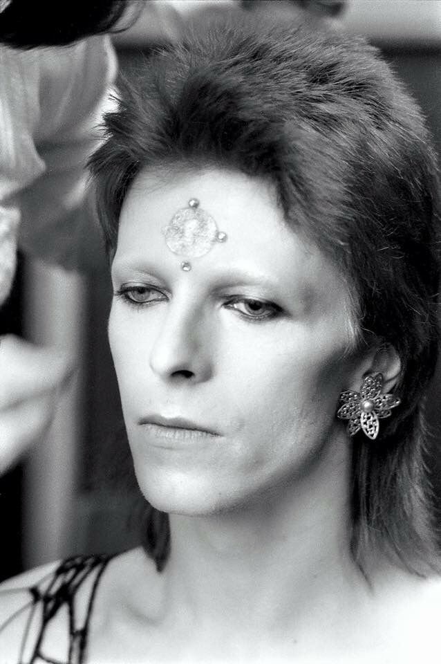 David Bowie by Terry O'Neill, 1973
