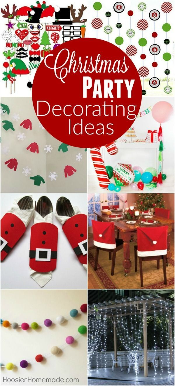 Christmas Party Decorating Ideas Simple Holiday Decor Ideas That Will Impr Christmas Party Table Christmas Party Decorations Christmas Party Table Decorations