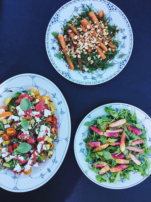 Sommersalater fra Go'morgen DK | The Food Club | Bloglovin'