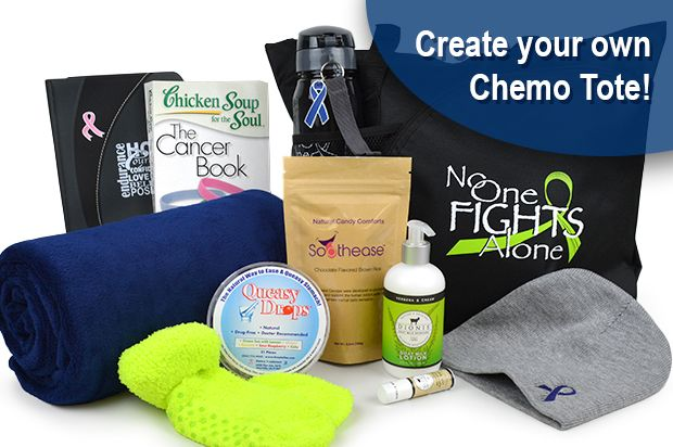 Create Your Own Chemotherapy Gift Tote