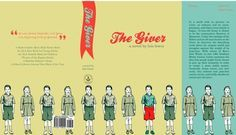 The Giver by Lois Lowry - Project ideas -- A few I like: 5. The Giver Book Cover Redesign; 6. The Giver Emotional Rainbow; 7. The Giver Community Newspaper