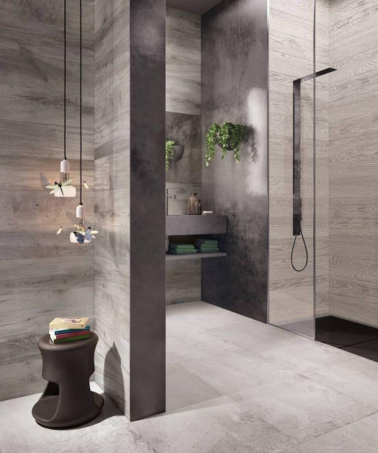 763 best Bad images on Pinterest Modern bathrooms, Bathroom and - badezimmerwände ohne fliesen