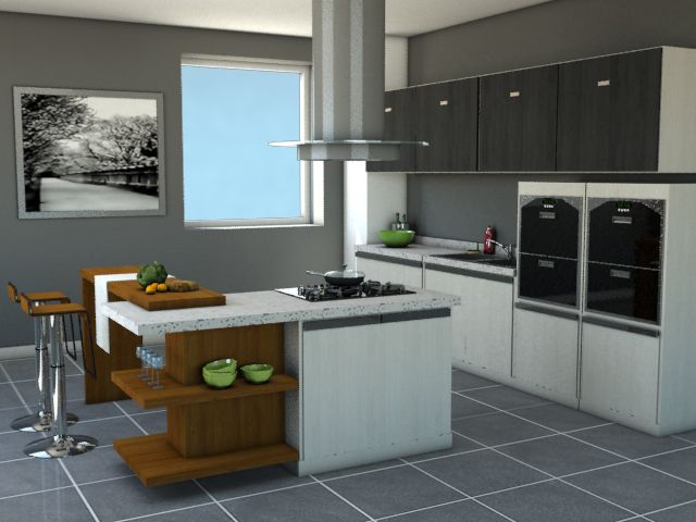 Kitchen pack 4:Promotional artwork for Home Design 3D, the best ...
