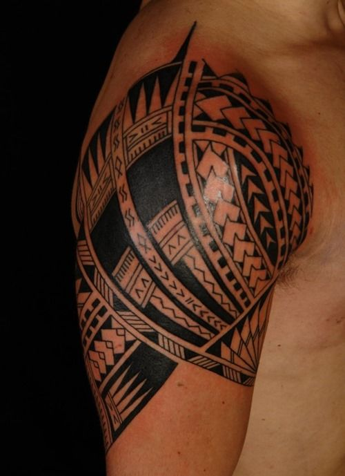 10 Cool Shoulder Tattoos for Men (4)