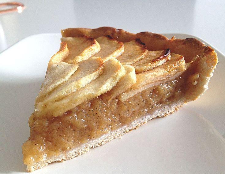 tartas fáciles tartas de frutas tartaleta de manzana tarta de manzana pasta brisa tarta de manzana con relleno de compota tarta clasica de manzana francesa postres tartas postres fáciles postres delikatissen compota casera