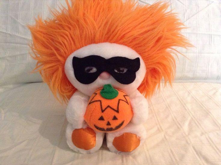 Vintage Rare Halloween Frou Frou Stuffed Plush Dakin 1984 #Dakin