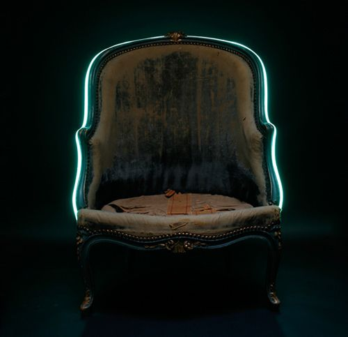 'Luminaire bergere chair' by Lee Broom