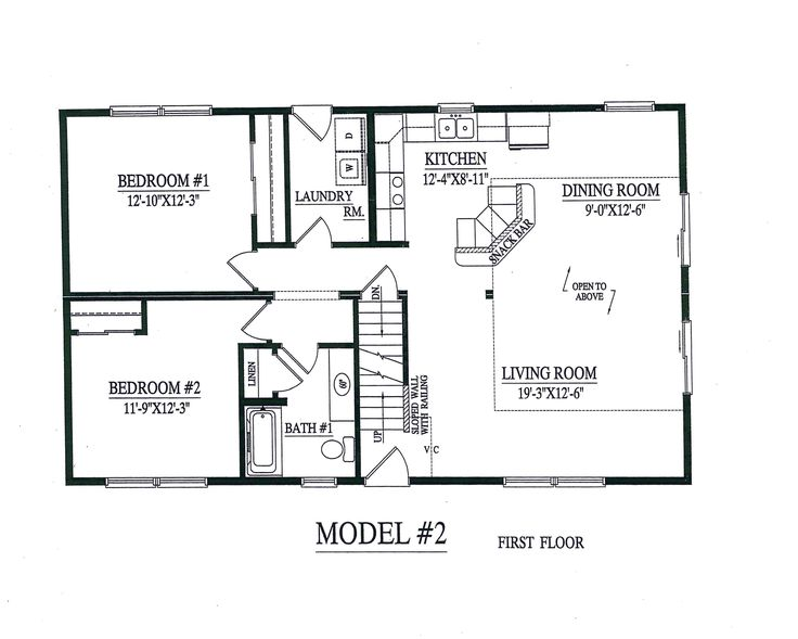 2 Bedroom Modular Homes Floor Plans Home Ideas