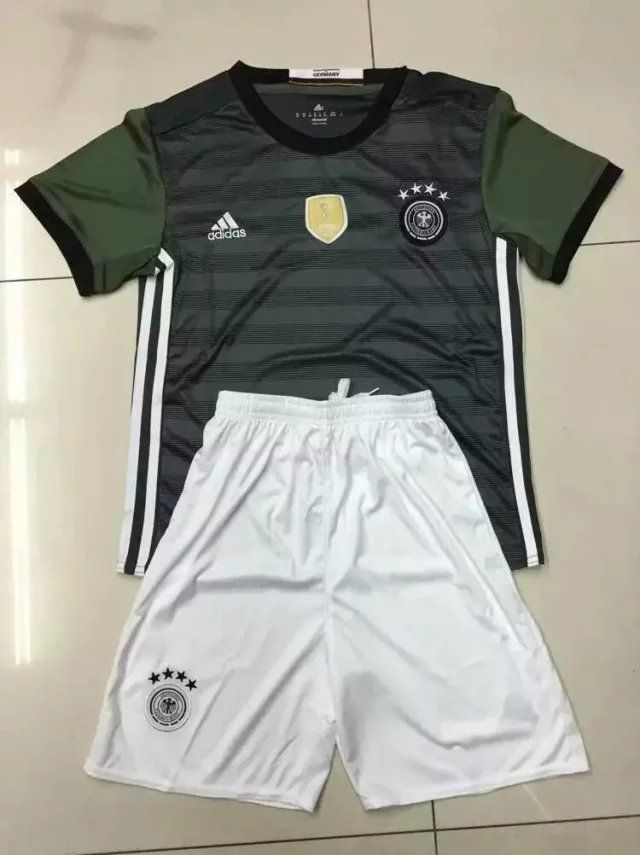 Germany 2016 Away Kids Uniform