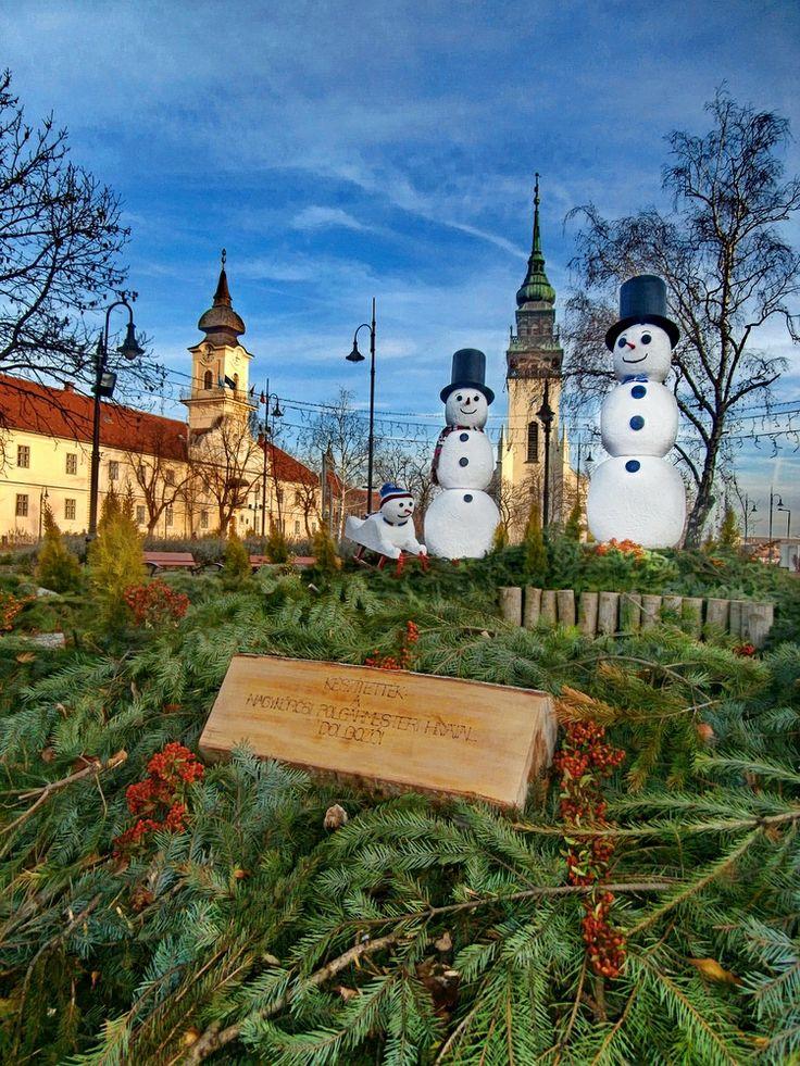 Showmen snowmen  towers - Nagykőrös