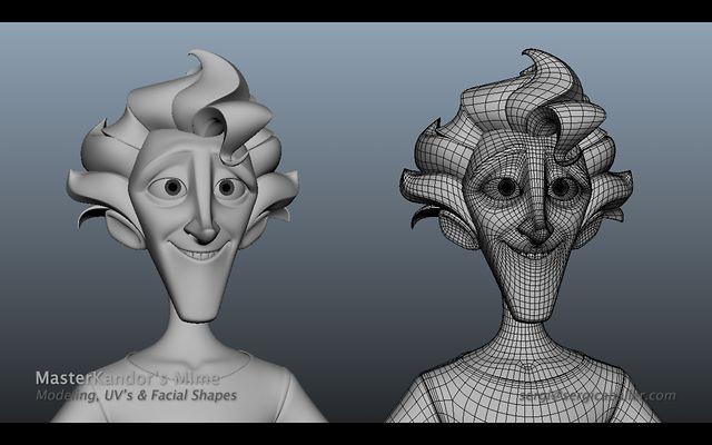 SergiCaballer - MasterKandor's Mime by Sergi Caballer Garcia. Freelance Work: Character & facial shapes modeling for the main character of MasterKandor.