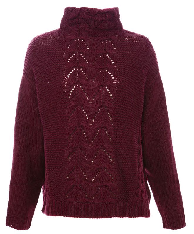 PULL COL CHEMINÉE - MAILLE - FEMME - PULL&BEAR France