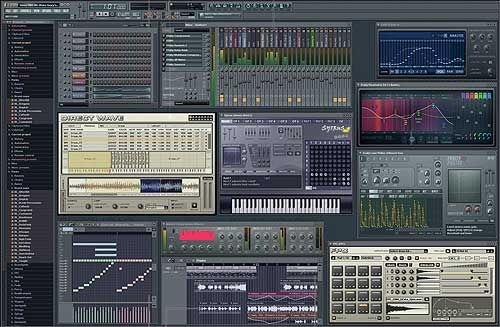 LINE FL Studio 7 Fruityloops XXL - is one technology that I am somewhat familiar with using, but I want to fully understand how to use it. Many poeple in the music industry use this to make instrumentals by combining different sounds to gether but it is not as easy as it look, you have to have a lot of patience doing this. It is also like using an MPC (Music Production Center) but its more complex.    -Jamel Davis