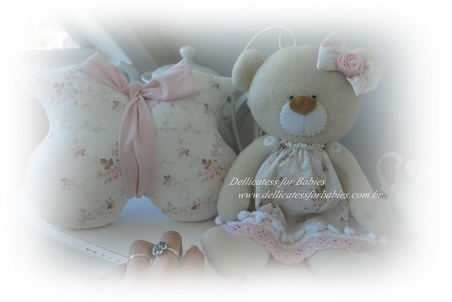 Doce ursinha! by ♥ Silvana Domiciano - Dellicatess for Babies ♥, via Flickr