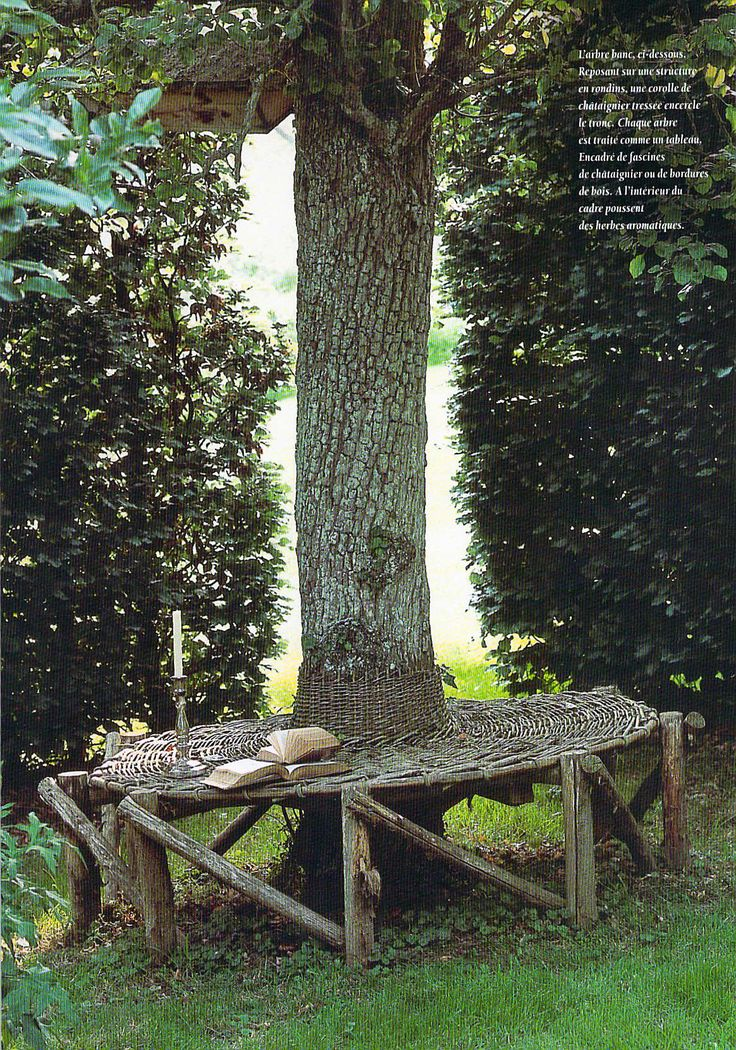 25 best ideas about tree seat on pinterest tree bench. Black Bedroom Furniture Sets. Home Design Ideas