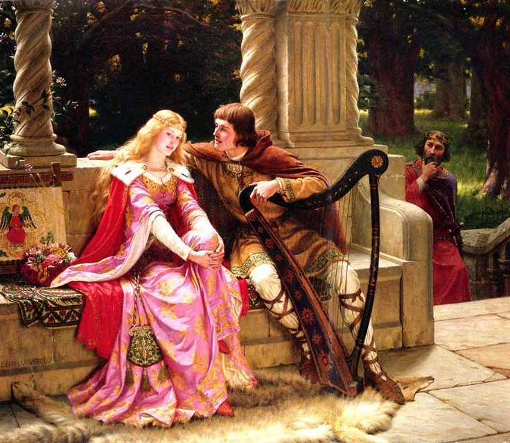 Edmund Leighton, The End of Song