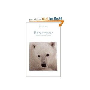 """Mit dem Buch """"Bärenwinter"""" möchte ich Sie entführen in die Welt der Eisbären. Spannende, abenteuerliche Erlebnisse aus vielen Jahren Eisbärenbeobachtung geben Ihnen einen Einblick in die Verhaltensweisen des """"Königs der Arktis"""". Nanook, wie der weiße Bär von den einheimischen Inuit (Eskimos) genannt wird, ist nicht nur das gefährlichste, sondern auch das faszinierendste Landraubtier."""