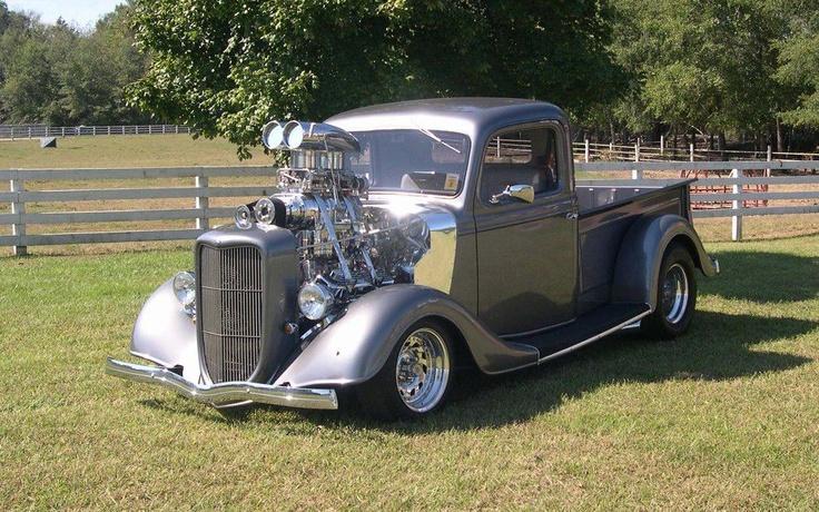 Blown 'very old school' pickup!