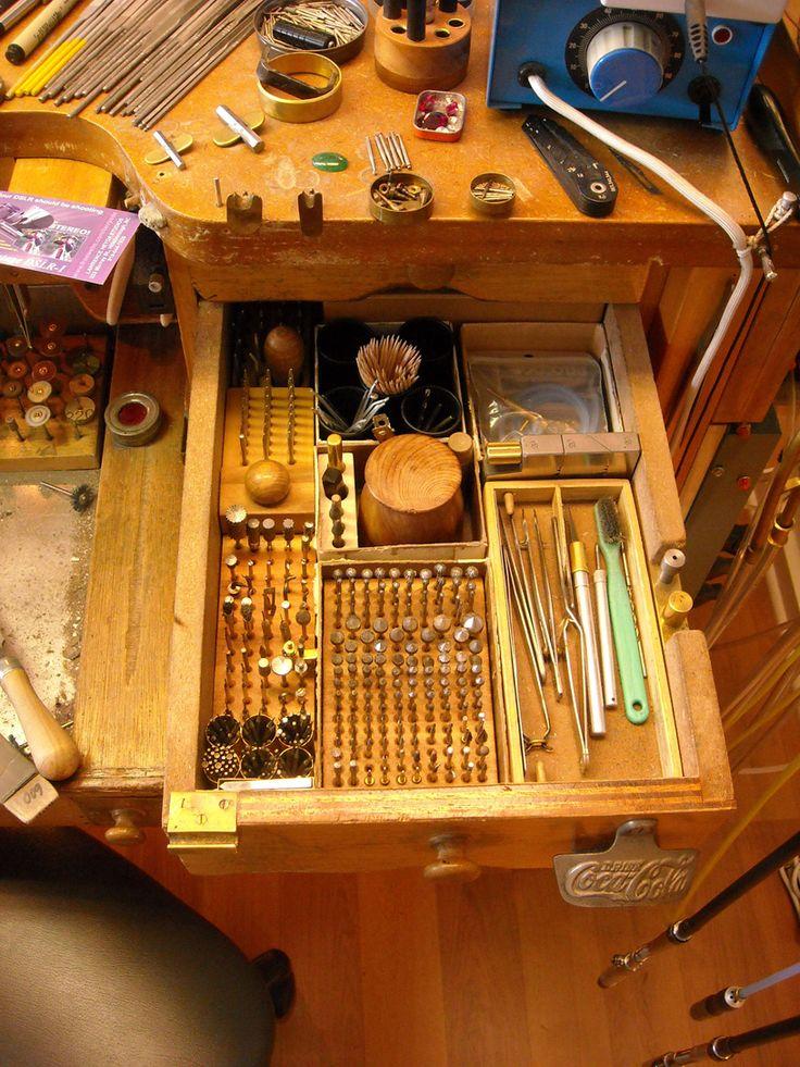 J Mason Custom Jeweler, from ganoksin blog, photos, Larry Seiger