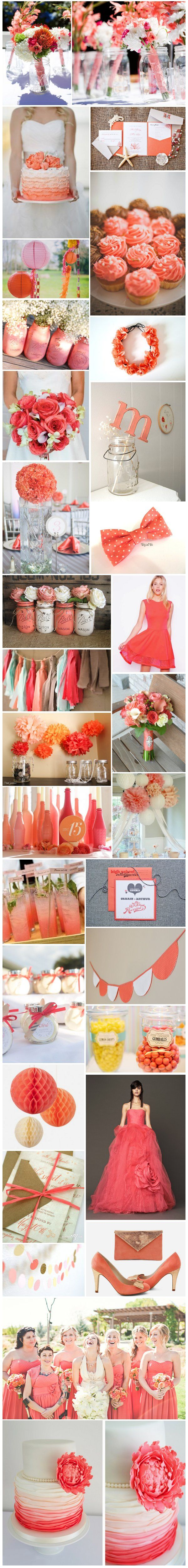 [Inspiration] Mariage corail