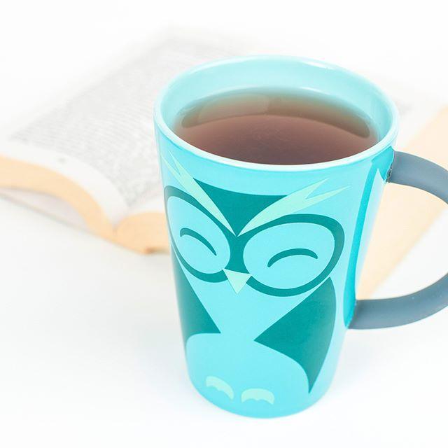 Prendre le temps! Notre tasse Hibou! #teaaddict #tealover #the #mug #owl #tasse #hibou #teataxi