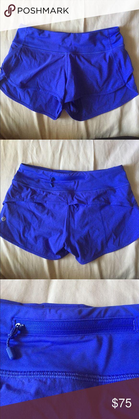 *BRAND NEW* Lululemon Shorts Never Worn✨  Brand new royal blue lululemon shorts ✨ Sizing runs small ✨ lululemon athletica Shorts