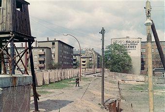 Berlin, Mauerbilder: Grenze zwischen Neukölln und Treptow ((1973)
