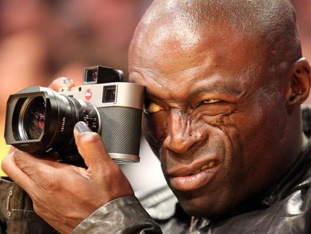 Shooting Film: Celebrities with Their Leica Cameras: Seal