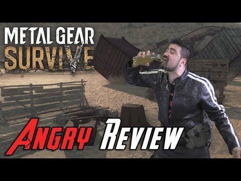 Metal Gear Survive Angry Joe Review