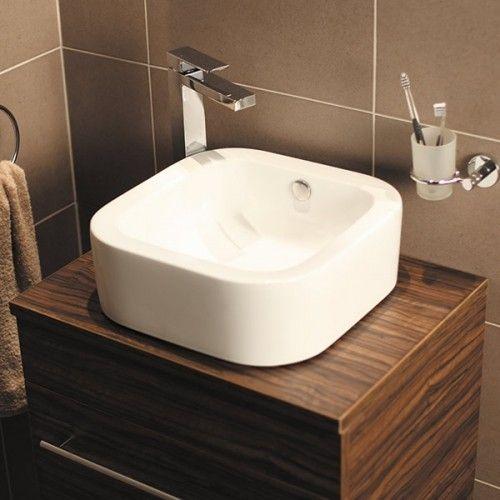 Bisque Countertop Basin Spring Bathroom Inspiration