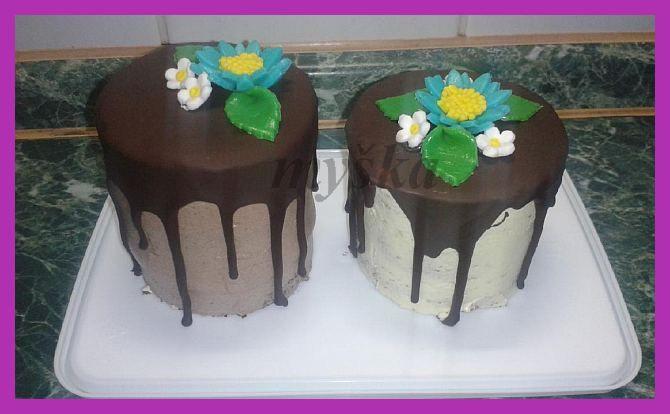 mini dortíky - vzorky