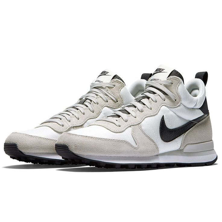 Amazon.com | Nike Internationalist Mid 682844-100 Summit  White/Anthracite/Grey
