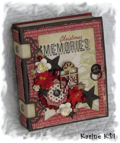 Déjà des cartes de Noël (!) ... pour Cartoscrap - Les créations de la Matrue : le blog de Karine-KBI