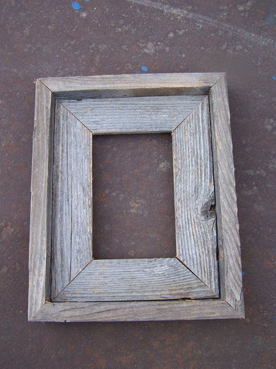 35x5 deluxe barnwood picture frame rustic by bluebarnfleamarket 600
