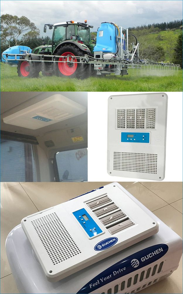 Best A C Solution For Agricultural Sprayer Unit Attached To A Tractor In 2020 Air Conditioner Installation Trucks Air Conditioner